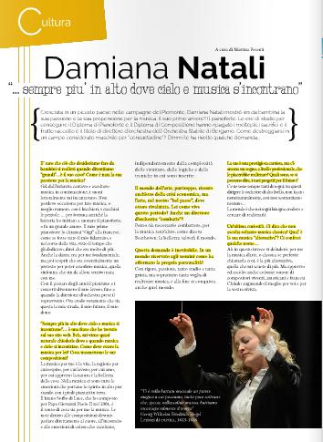 Periodico Dimmi!, di Martina Pesenti, primavera 2014