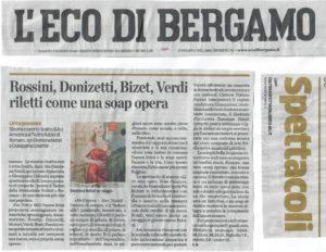 Eco di Bergamo marzo 2018