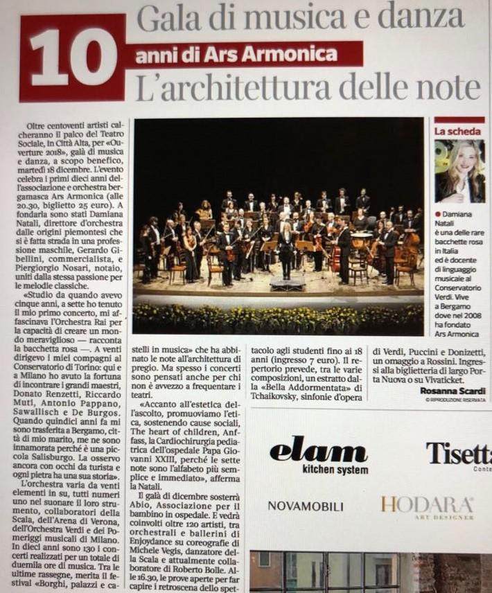Corriere della Sera - Ottobre 2018 - Rosanna Scardi