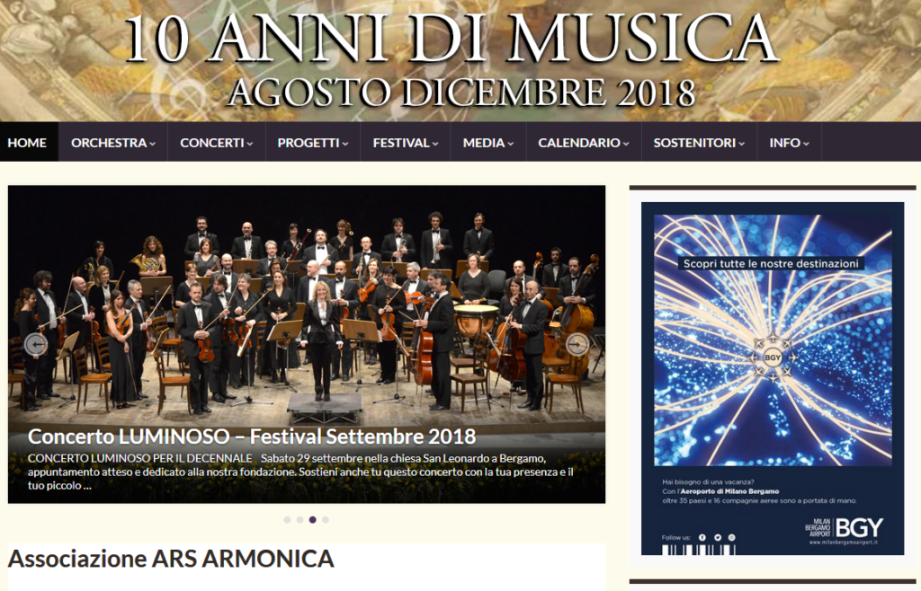Sacbo perArs Armonica 2018