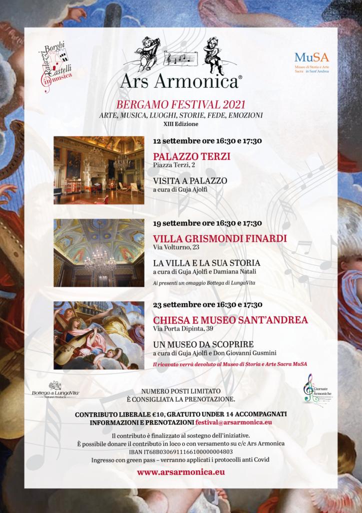 Festival Bergamo 2021 Il programma completo